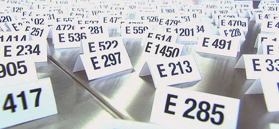 E-Nummer in Lebensmittel