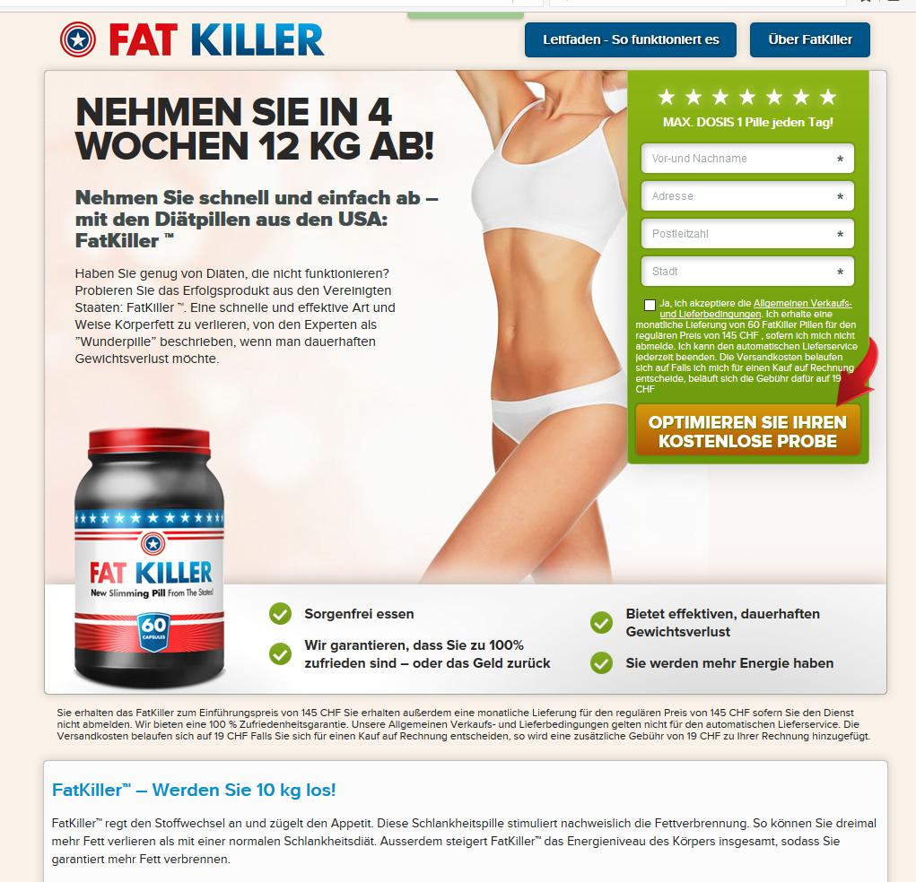 fatkiller bestellen schweiz
